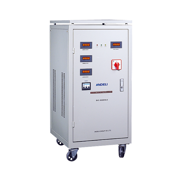 SVC(LED)(Three) Automatic Voltage Stabilizer