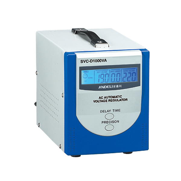 SVC-D(LCD) Series Fully Automatic A.C. Voltage Regulator